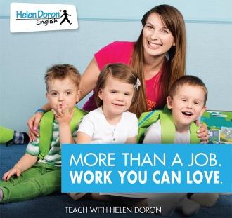 Tapk atestuota Helen Doron anglų kalbos mokytoja - geriausia EFL mokytoja pasaulyje.