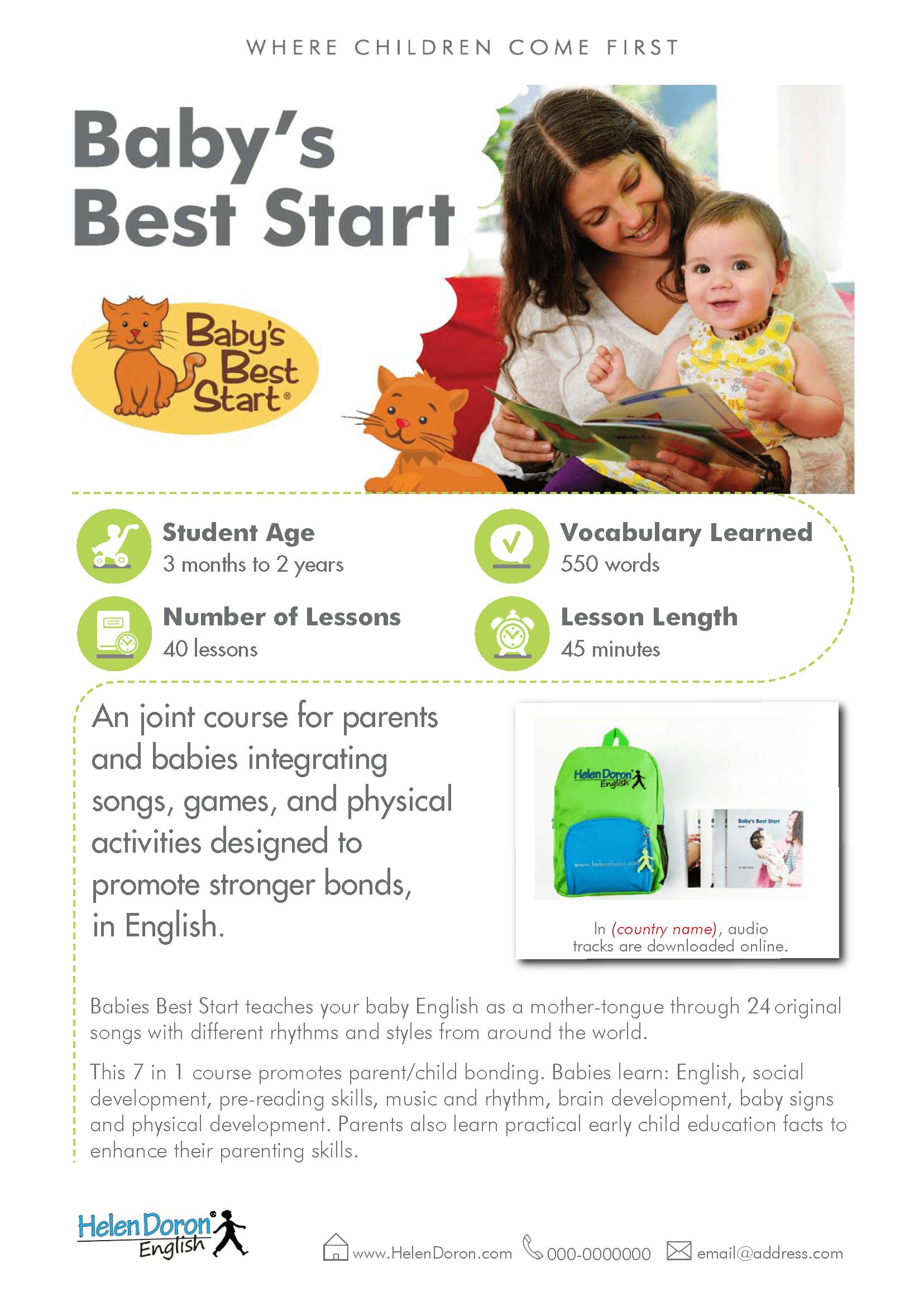 Parsisiųsti - Baby's Best Start
