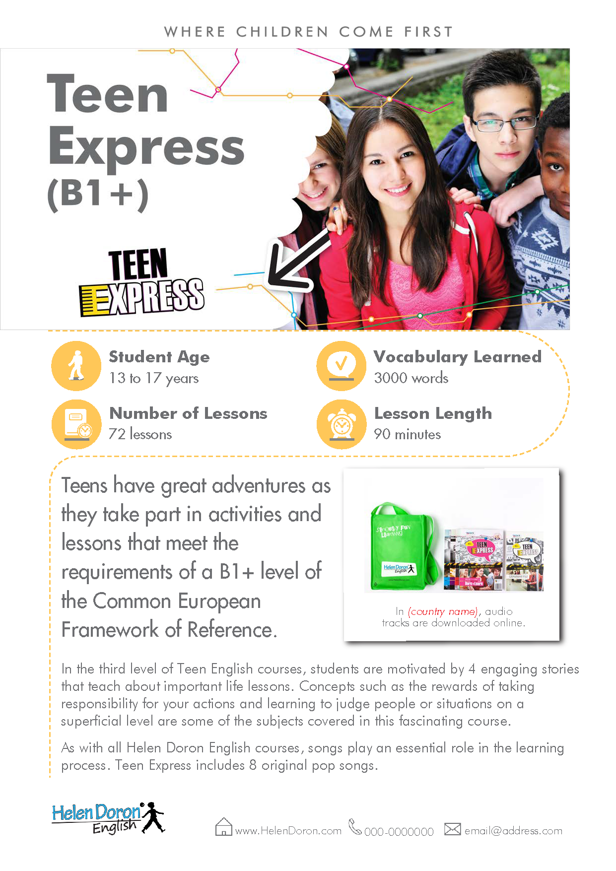 Parsisiųsti - Teen Express (B1+)