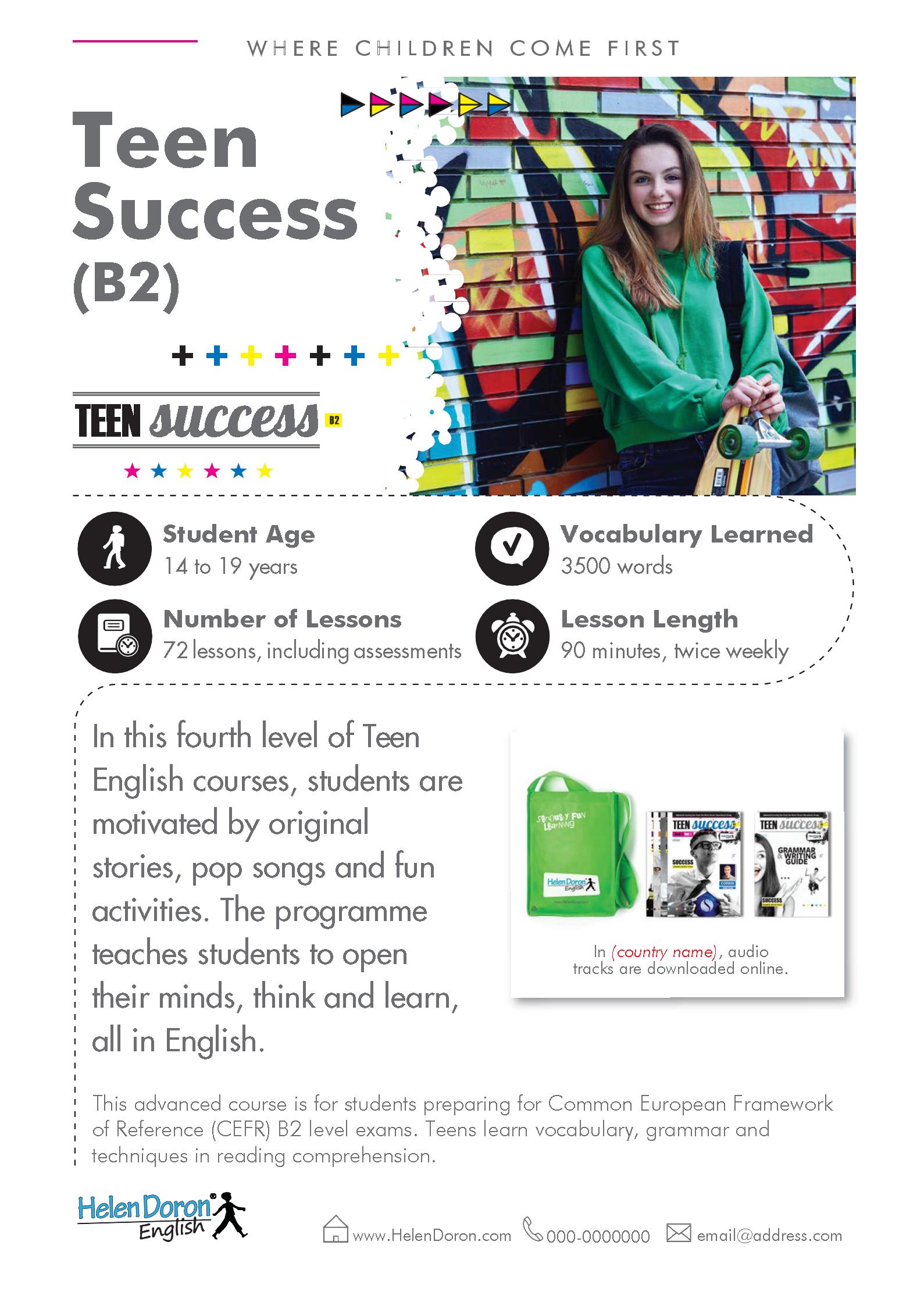 Parsisiųsti - Teen Success (B2)