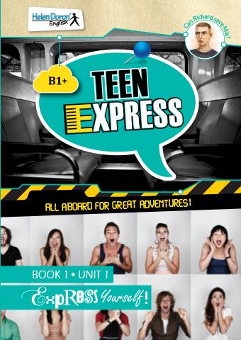 Pažiūrėk vidun - Teen Express (B1+)