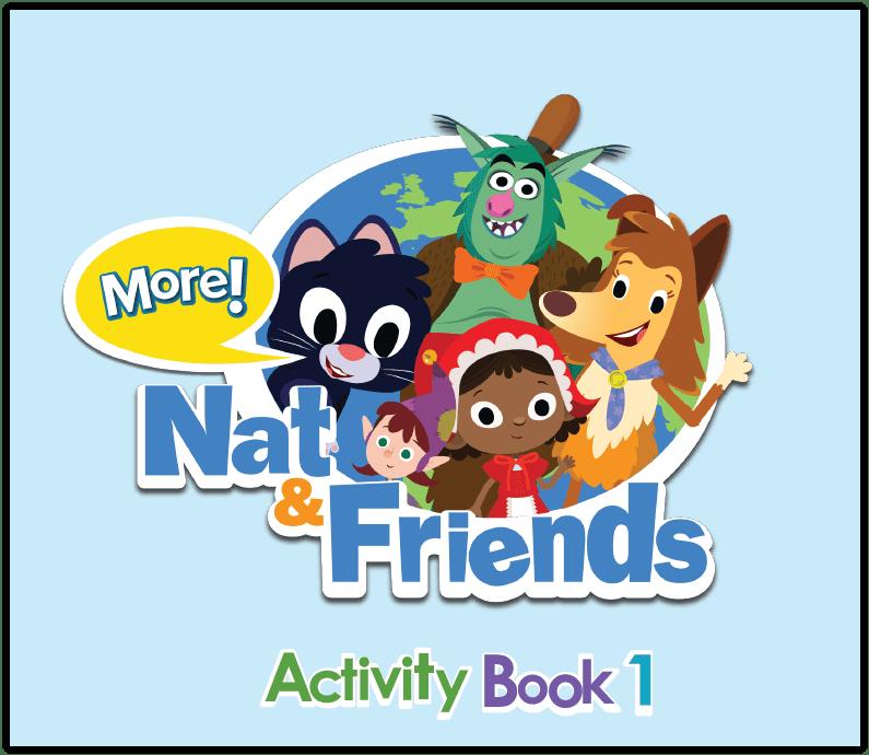Pažiūrėk vidun - More Nat and Friends